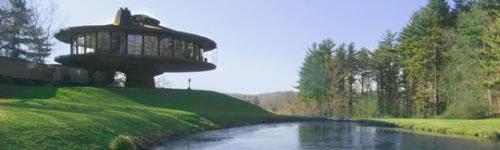 Maison tournante 1968 - Maison bois ronde tournante ...