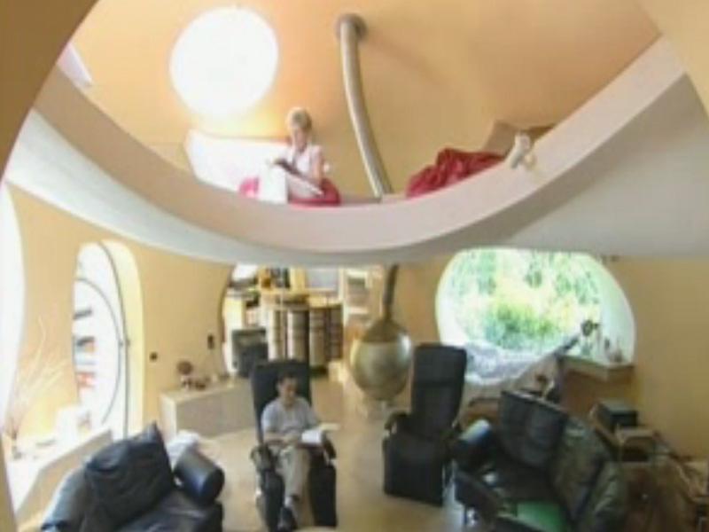 Video maison bulle christian for Maisons bulles