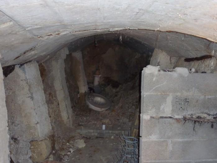 Vue cave intérieur